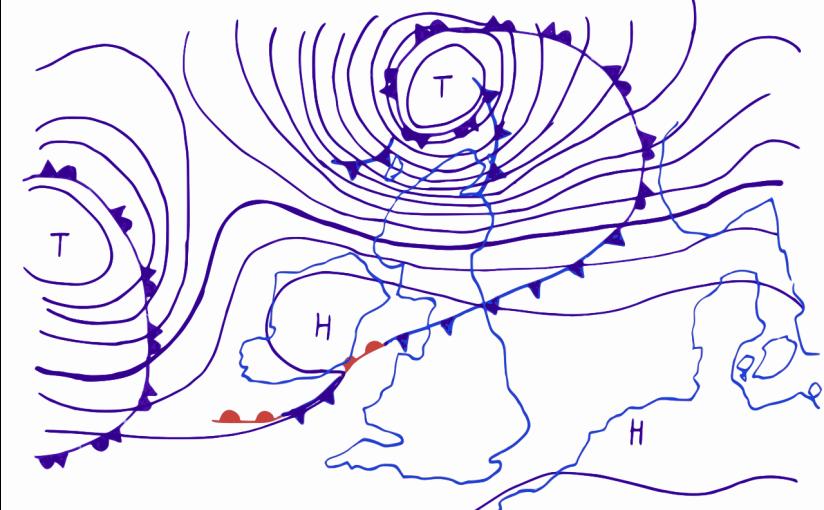 Aktualisierung zur Unwetterwarnung